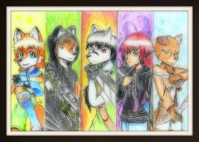 Rescue Team Emasc By Arc Rose by Zel-the-Wolf