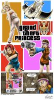 Grand Theft Princess by mysticalpha