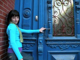 Near the Blue Doors by renny-saoirse