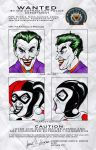 WANTED JokerHarley by NickMockoviak