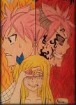 Natsu x Lucy x E.N.D by Nalulover98
