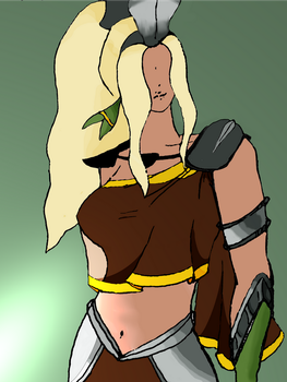 Proto-Cassie by Half-of-a-mask