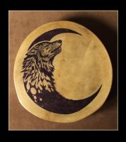 Wolf drum by tavolodo