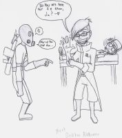 TF2 - Here for ze exam? WIP by FungalZombieX