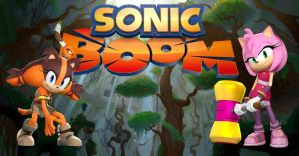 Sonic Boom - Sticks and Amy by Knuxy7789