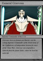 SW-Cards: General Grievous by DarthVaderXSnips