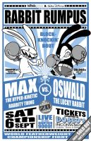 MAX vs OSWALD Bout poster by mostlymade