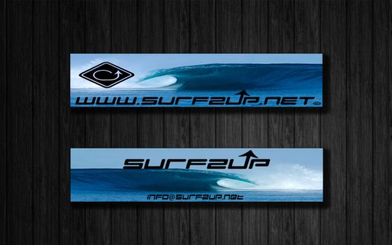 Surfzup Website Banners by SURFZUP