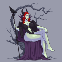 Maleficent by Blazbaros