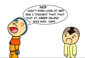 Aang Disapproves by Roxas626