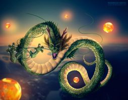 Shenlong - Dragon Ball Z by RodrigoBrito