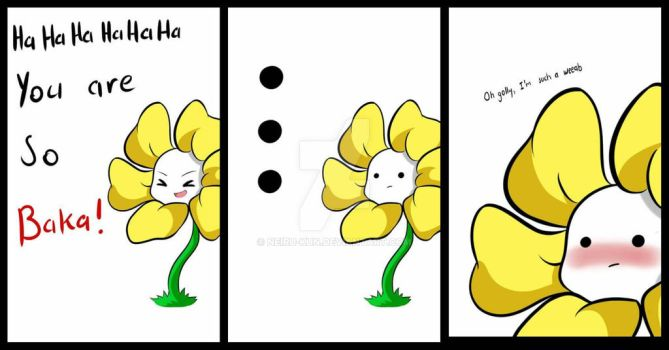 flowey the flower weeab by NEIRU-kUn