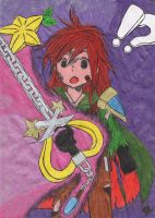 Kairi's New Keyblade by MadHatter-Himself