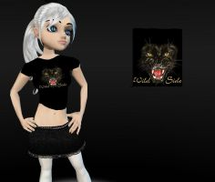 IMVU Wild Cat Shirt by elvenbladerogue