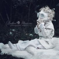 gas mask toddler by LockedIllusions