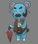 ACNL Beardo by ms-aibee
