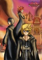 Kingdom Hearts 358 over 2 days by Rud-K