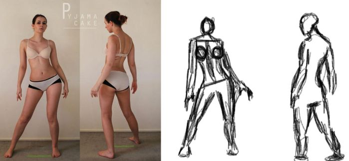 Character Design: Gesture Drawing by latrino
