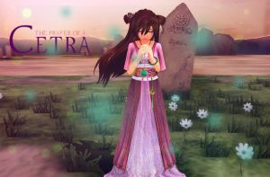 :: SAKURA : The Prayer Of A Cetra :: by tifany1988