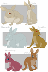 Watership Down charas part3 by shuvuuia