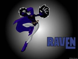 Teen Titans - Raven by Silver-Dreams