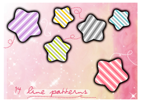 Line Patterns Set 2 by SparklingTea