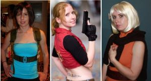 Resident Evil Costumes by GreenElfie