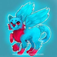 Adoptable: Vishka (fakemon) by husaria-chan