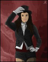 Zatanna by SpideyVille