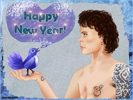 Happy New Year! (Ville Valo) by DoriAnna666