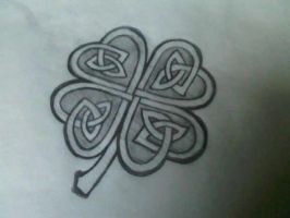 celtic shamrock by ToyBoxMizfit