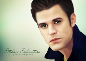 Stefan Salvatore / Paul Wesley by sendee