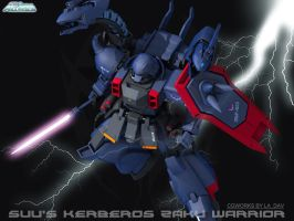 THE KERBER ZAKU WARRIOR  02 by Ladav01