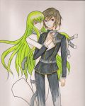 Lelouch and C2 by chamoth143