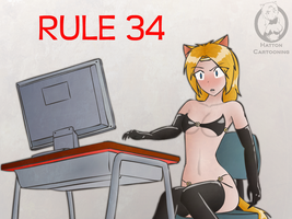 Rule 34 by mandalorianjedi