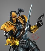 Injustice Deathstroke by osx-mkx
