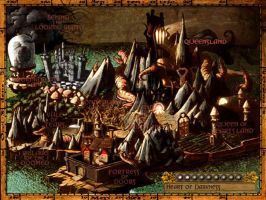 American McGee's Alice Map by fergalicious214