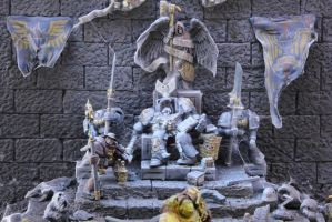 Raiders of the Lost Light (throne detail) by not-Santa