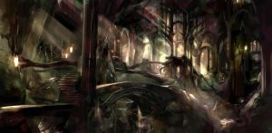 The Woodland Realm by SaigaTokihito