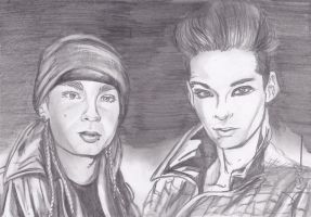 Twins Kaulitz Milan by angelteva