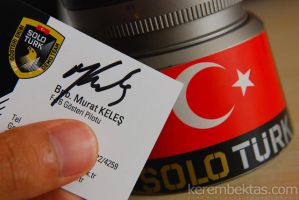SOLOTURK Business Card by keremizmir