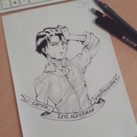 Levi Ackerman by SnitchWing
