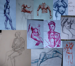 Life Drawing 2014 by Lea007