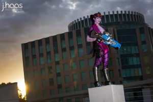 Widowmaker ~ After the shot by AnnaLynnCosplay