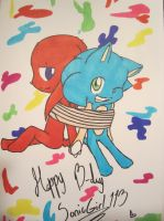 .:~Happy Birthday SonicGirl113~:. by Radioactive-Death