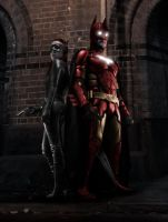 The Iron Bat and the Black Cat by TestMonkeysMedia