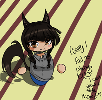Myself as a chibi :Trade: Mr-Comic by 0GameGirlArtistNerd0