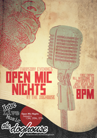 Open Mic Nights- The Doghouse by Survulus