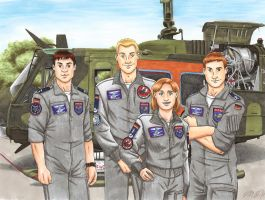 SAR Crew by nessi6688