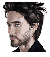 Jared Leto Vector by Sammywall